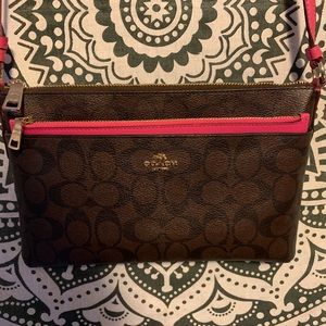 Coach Crossbody and Matching Wallet